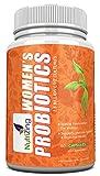 NutriZing's probiotische Ergänzung für Frauen ~ Speziell für die weibliche Gesundheit konzipiert ~ Am besten geeignet bei Soor, Hefe Infektionen, Probleme des Verdauungssystems, IBS ~ 2.5 Milliarden KBEs pro Kapsel