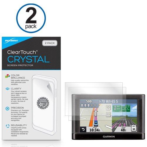 Garmin Nuvi 42LM Displayschutzfolie, BoxWave® [ClearTouch Crystal] HD Film Haut-Shields vor Kratzern für Garmin Nuvi 42LM