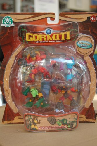 GORMITI CARTOON 4 FIGURES GPH26307