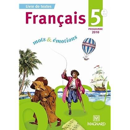 Français 5e : Manuel élève