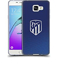 Official Atletico Madrid Blue 2017/18 Crest Soft Gel Case for Samsung Galaxy A5 (2016)