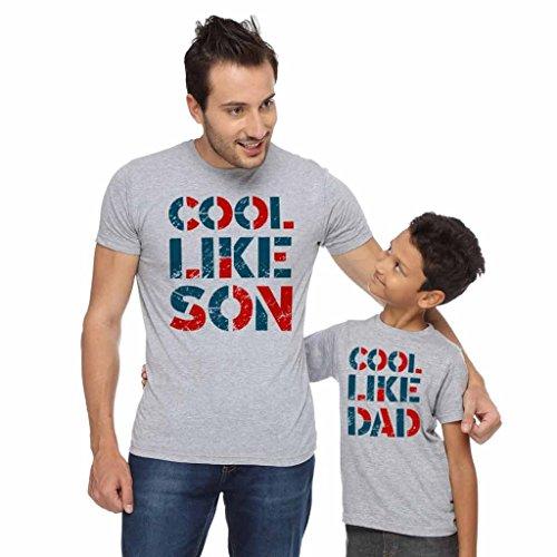 Bon Organik Cool like dad   son tee 1fa665dce3d5