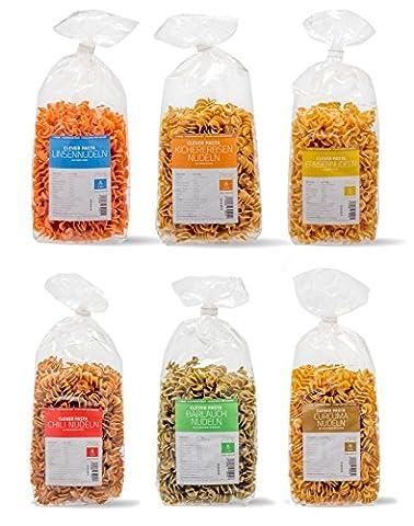 Clever Pasta 6-er Pack Startpaket (6 x 250 g)