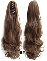 Amazon ponytail hair extensions hair extensions wigs queen wig long wave clip inon wavy ponytail hair extension pmusecretfo Choice Image
