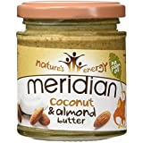 Meridian Natural Almond & Coconut Butter 170 g Cremoso