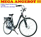 Vogue MEGA Angebot > Elektrofahrrad Centaur 7 Gang grau statt 1399 €