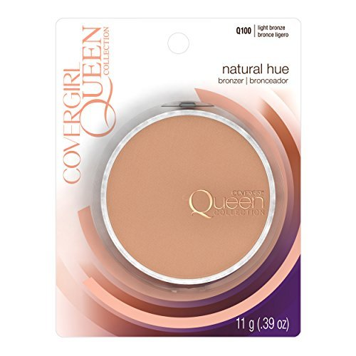 Covergirl Queen Collection (COVERGIRL Queen Collection Natural Hue Mineral Bronzer Light Bronze .39 oz (10.5 g) by COVERGIRL)