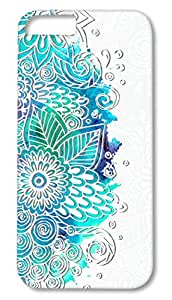 Iphone 5-5s printed back covers from Print Opera – Holographic Floral