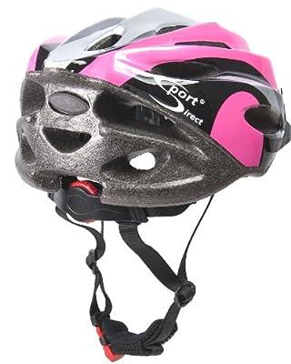 Sport Direct Bicycle Helmet Ladies, 56-58cm, Pink