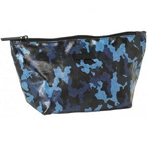 Safta Neceser Moos Blue «Camo»Oficial Porta Maquillaje 230x80x120mm
