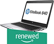 (Renewed) HP Elitebook 840G1-i5-16 GB-500 GB 14-inch Laptop (4th Gen Core i5/16GB/500GB/Windows 7/Integrated Graphics), Black