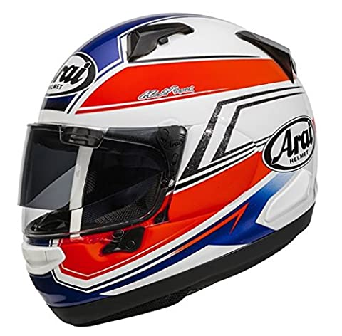 Arai Chaser X Full Face Motorcycle Motorbike Helmet Shaped Blue Medium