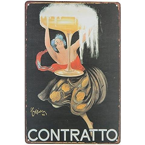 Ipekoo cerveza pared placa metálica, Vintage de placa para Bar Pub Club salón cocina decoración para el hogar–12
