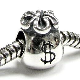 Acheter Queenberry Breloque en Argent Sterling Dollar Pouch... en ligne