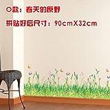 Znzbzt Sockelleisten Wand wasserdicht Wand kreative Aufkleber Fries dekorative Kunst Tapete anbringen, Feder