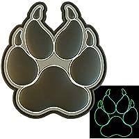 Glow Dark ACU K-9 Paw K9 Handler Dogs of War Morale Esercito Army Gear PVC Velcro Toppa Patch