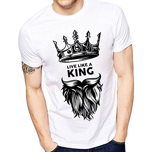 Ghantababajia Men's Cotton T-Shirt (Idk003-$P!_White!_Medium)