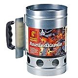 Flash Anzündkamin XL Kohlestarter Grillanzünder Grillstarter Grill Kamin BBQ