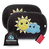 Storch&Born® Auto Sonnenschutz - Sonnenblende mit Andrückrakel und...