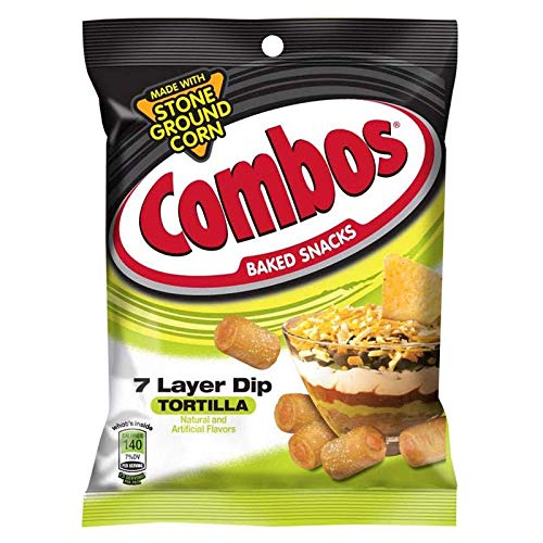 Combos 7 Layer Dip Tortilla Baked Snacks - 178g (3 Pack) Combo's ...