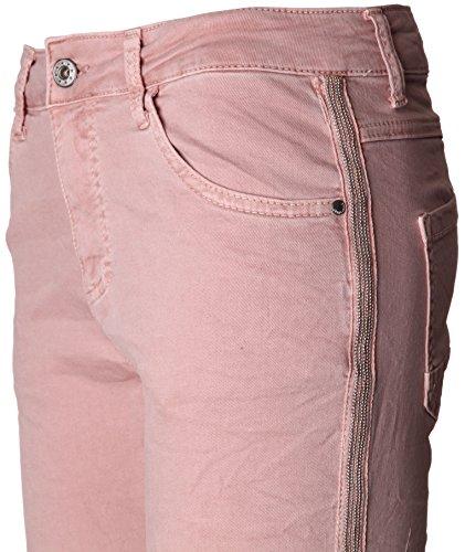 Basic.de -  Pantaloni  - Donna - Rosa