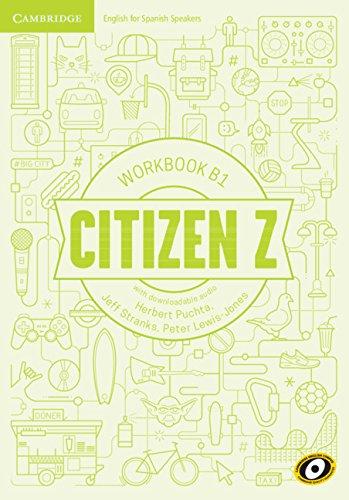 Citizen Z B1 Workbook with Downloadable Audio por Herbert Puchta