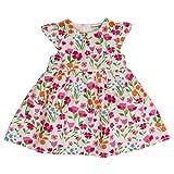 SALT AND PEPPER Baby-Mädchen Kleid B Dress Allover Bunte Blumen, Mehrfarbig (Original 099), 80