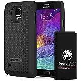 PowerBear Batterie Étendue compatible pour Galaxy Note 4 [7500mAh], Couvercle Arrière et Boîtier de Protection (2.3X de Puissance de Batterie Supplémentaire) [24 Mois Garantie]