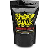 Spider Chalk Weight Lifting Chalk, Premium Quality Loose Chalk For Rock Climbing, Cross Fitness Training, And Gymnastics, Grip Enhancer, 99% Pure Loose Chalk, Made In The USA - 8oz