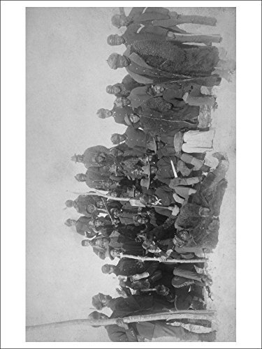 Black Buffalo Soldiers Of The 25th Infantry Photograph (Playing Card Deck 52 Card Poker Size With Jokers)