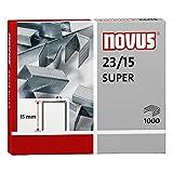 Novus Heftklammern/042-0044 23/15super Inh.1000