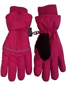 N 'ice Caps Niños Thinsulate y resistente al agua fácil de con cremallera reflector guantes