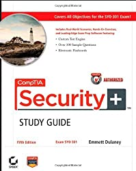 CompTIA Security+ Study Guide Authorized Courseware: Exam SY0-301 by Emmett Dulaney (2011-06-28)