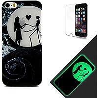 iphone 6s Cover Silicone Morbida,Custodia iphone 6 / 6s Fluorescente,Funyee
