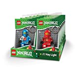 Lego Ninjago Led Key Light Clip Ons Case of 12