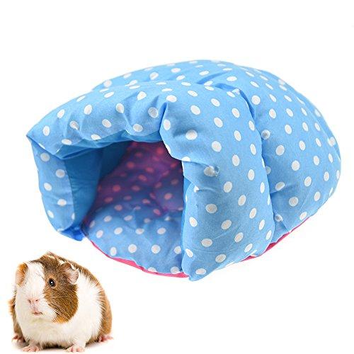FLAdorepet Klein Tier Hamster Slipper Bett für Käfig Kaninchen Meerschweinchen Bett für Eichhörnchen Ratte Chinchilla - Käfig Hamster Super