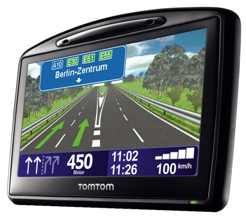 TomTom BV TomTom Go 730 Traffic Navigationssystem inkl. TMC Pro (10,9 cm (4,3 Zoll) Display, 31 Länderkarten, Bluetooth, Text-to-Speech, Fahrspurassistent)