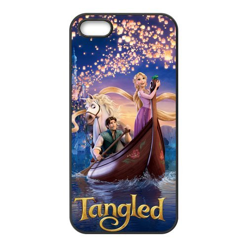 Iphone iphone 5/5S avec film de protection pour iphone 5/5S, tangled raiponce designs iphone 5S/iphone 5/iphone 5S avec film de protection
