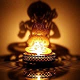 M.G.R.J Hanuman Ji Shadow Lamps Tealight Candle Holder Stand For Pooja And Decorative