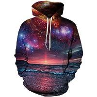 Sanrense Galaxy con cappuccio uomini Colourful HD