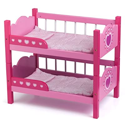Dolls World 8612 - Literas para muñecas de hasta 46 cm, color rosa por Dolls World