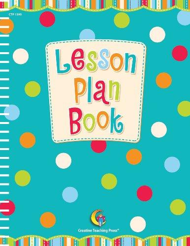 Creative Teaching Prensa puntos en Chocolate, color Lesson Plan Book