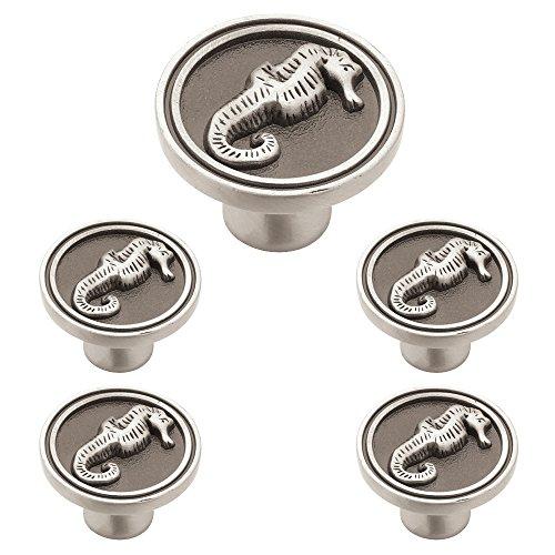 Franklin PBF661-BSP-C1 Türknauf für Küchenschrank, 35 mm, Messing 5 Pack Brushed Satin Pewter -