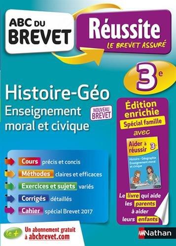 ABC du Brevet Russite Parent Histoire-Gographie EMC 3e