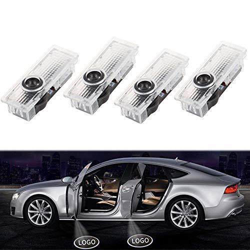 ALBRIGHT 4 X Autotür Projektion Licht Türbeleuchtung Willkommen LED Logo Projektor Einstiegsbeleuchtung