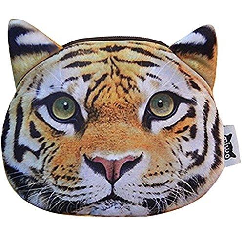 MOGOR, Borsa a zainetto donna medium, Tiger (blu) - ABC-189 Tiger