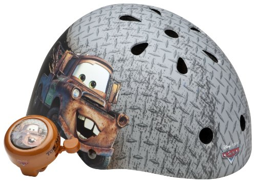 Cars Mater Kleinkinder Hartschalen Helm mit Bell (grau) Bell Kleinkind Helm