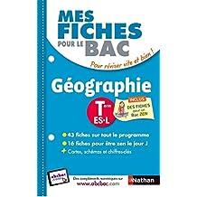 Mes fiches pour le BAC Géographie Term ES.L