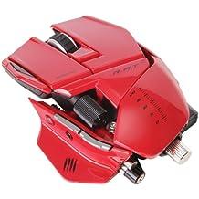 Mad Catz R.A.T. 9 - Ratón gaming, color rojo