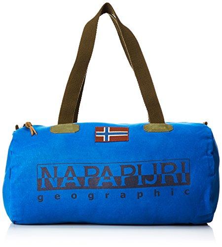 Napapijri Bering Small 1, Sacs bandoulière mixte adulte, Blau (Mountain Blue), 26x26x50 cm (B x H T)